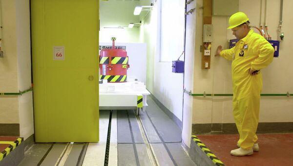 Un operatore in una centrale nucleare. - Sputnik Italia