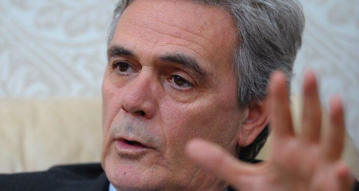 L'ambasciatore della Repubblica Italiana in Russia Cesare Maria Ragaglini