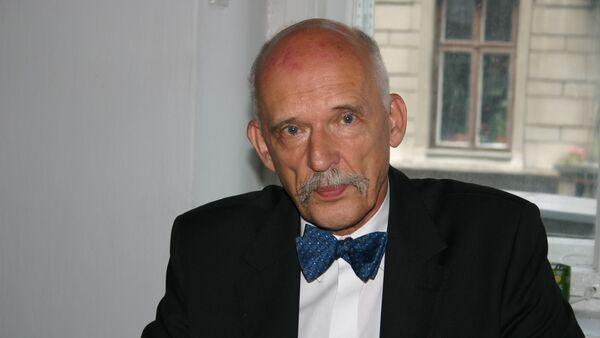 Janusz Korwin-Mikke, europoseł, polityk - Sputnik Italia