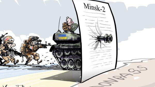 Esercitazioni USA in Ucraina - Sputnik Italia