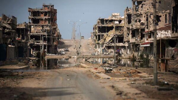 Sirte distrutta dai combattimenti - Sputnik Italia