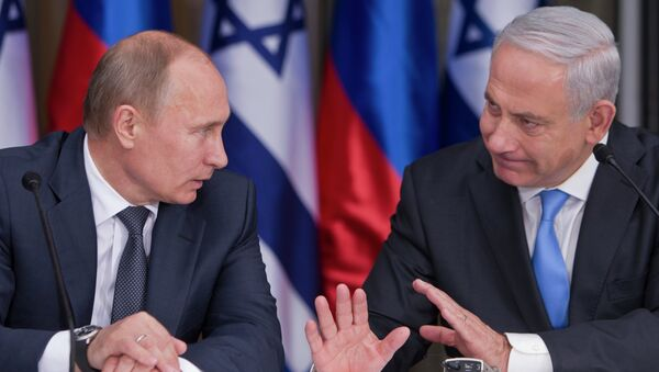 Vladimir Putin e Benjamin Netanyahu - Sputnik Italia