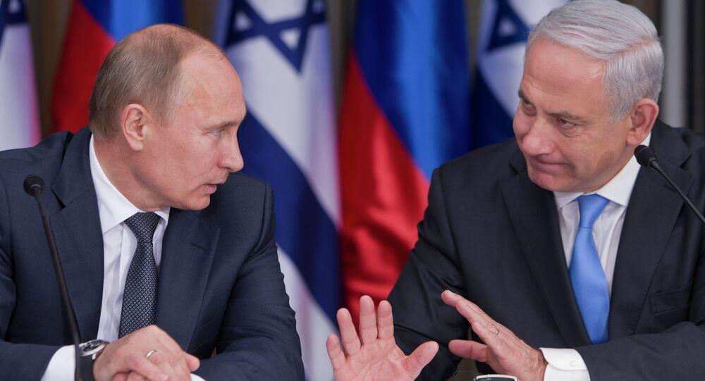 Vladimir Putin e Benjamin Netanyahu