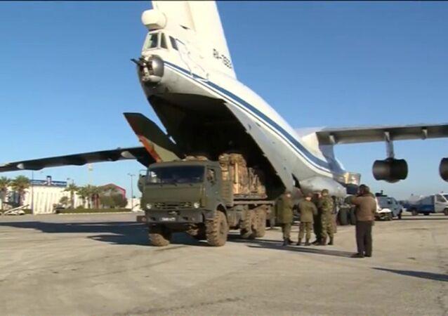 Cargo di aiuti umanitari russi in Siria