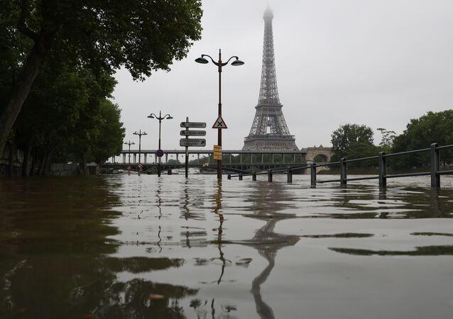 Alluvione a Parigi
