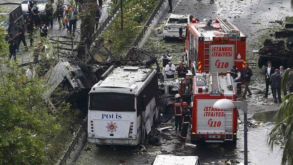 Attentato a Istanbul - Sputnik Italia