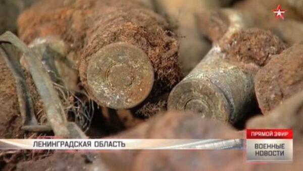 Annientati 200 chili di esplosivi dei tempi della Seconda guerra mondiale - Sputnik Italia