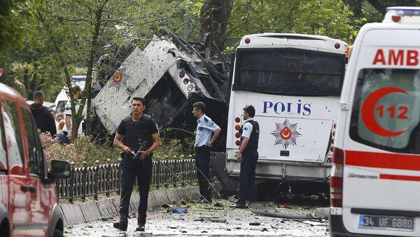 Attentato a Istanbul, 7 giugno 2016 - Sputnik Italia