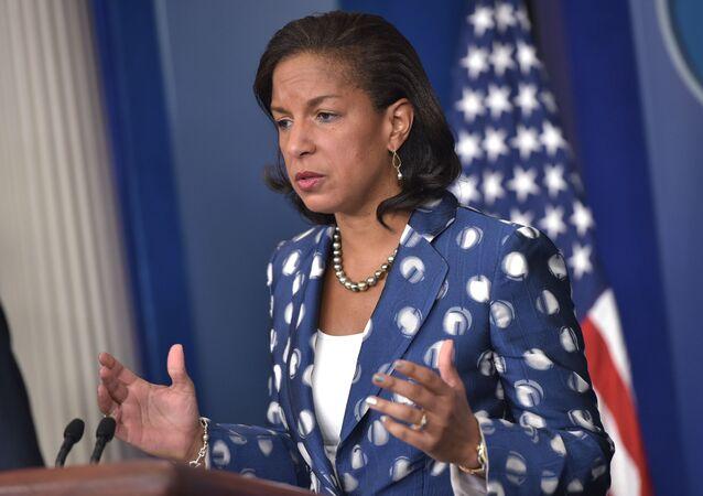 Consigliere della Casa Bianca sulla sicurezza nazionale Susan Rice