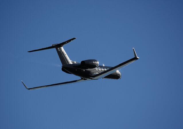 Aereo-spia svedese Gulfstream IV