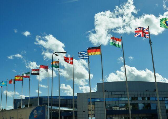 Quasi tutto pronto per il forum economico internazionale di San Pietroburgo