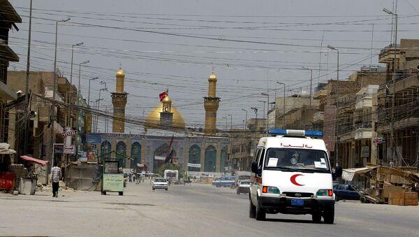 Un'ambulanza vicino a Baghdad - Sputnik Italia