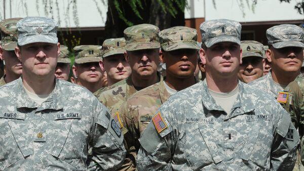 Militari statunitensi alle esercitazioni Anaconda-2016 in Polonia - Sputnik Italia
