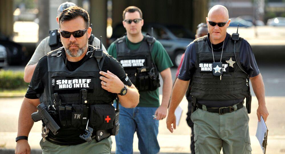 Agenti di polizia a Orlando