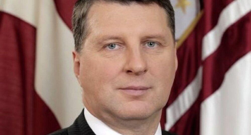 Presidente lettone Raimonds Vējonis