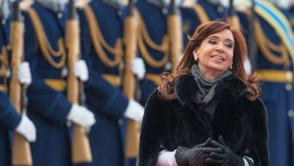 Прилет президента Аргентины Кристины Фернандес де Киршнер в Москву - Sputnik Italia