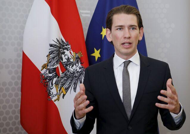 Ministro degli Esteri dell'Austria Sebastian Kurz