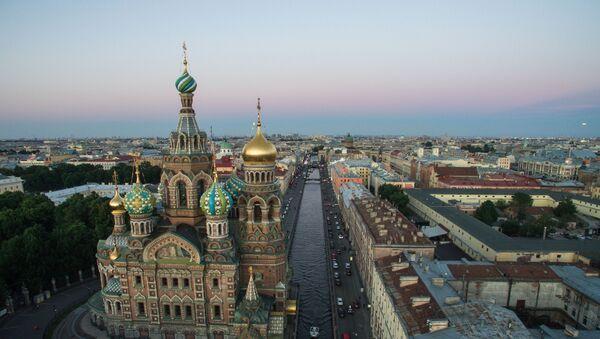 La chiesa del Salvatore sul Sangue Versato a San Pietroburgo. - Sputnik Italia