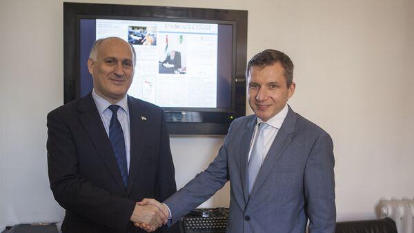 La presentazione di Abcasia Oggi a Roma - Sputnik Italia