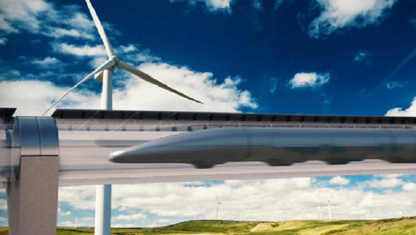 Hyperloop Transportation System - Sputnik Italia