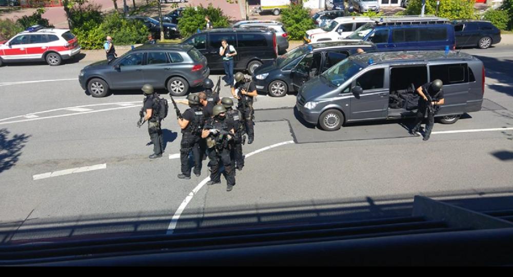 La polizia ha ucciso l'uomo che ha sparato al cinema in Germania