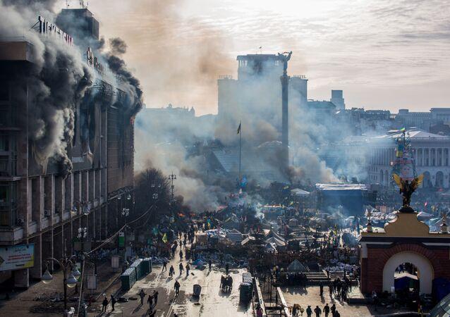 Piazza Maida a Kiev, Ucraina