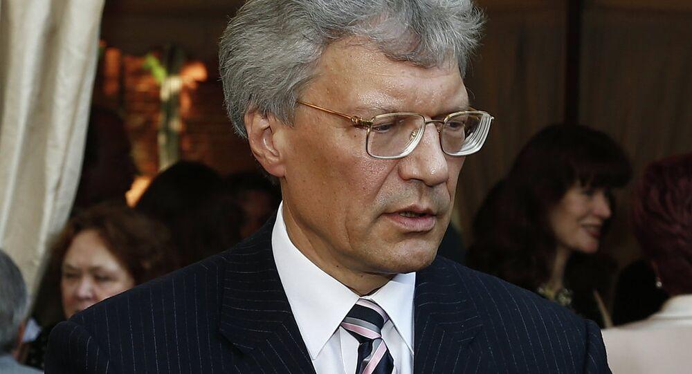 L'ambasciatore della Russia in Italia Sergei Razov