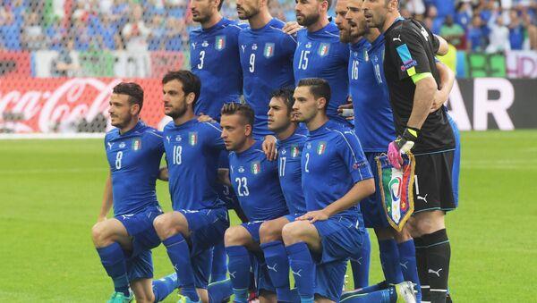 L' Italia che ha battuto 2-0 la Spagna - Sputnik Italia