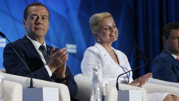 Convegno del partito Russia Unita - Sputnik Italia