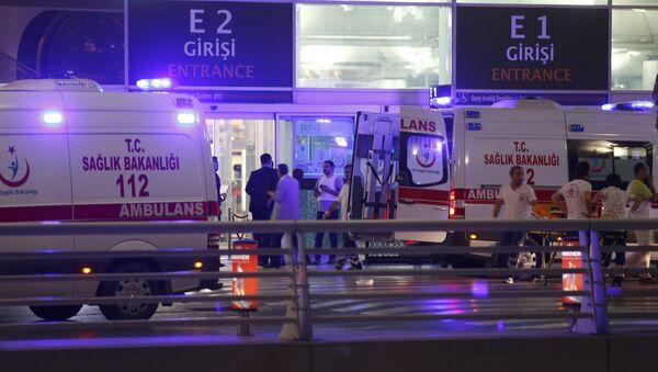 Attentato all'aeroporto Ataturk di Istanbul - Sputnik Italia