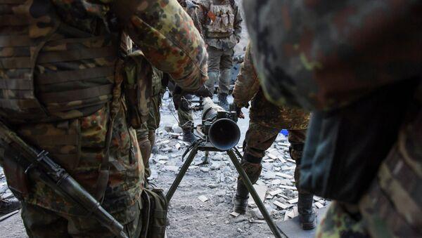 Paramilitari del battaglione Azov - Sputnik Italia