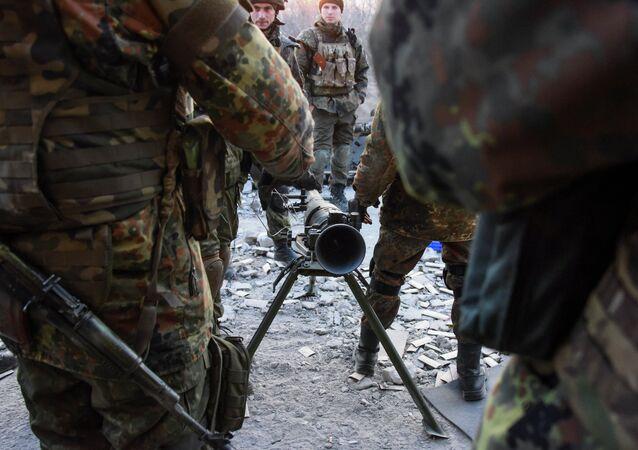 Paramilitari del battaglione Azov