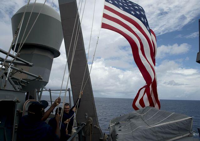 Una nave della Marina USA