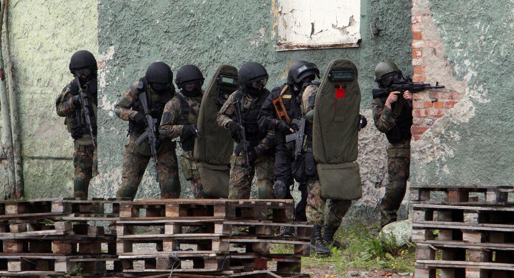 Forze speciali dell'FSB (foto d'archivio)