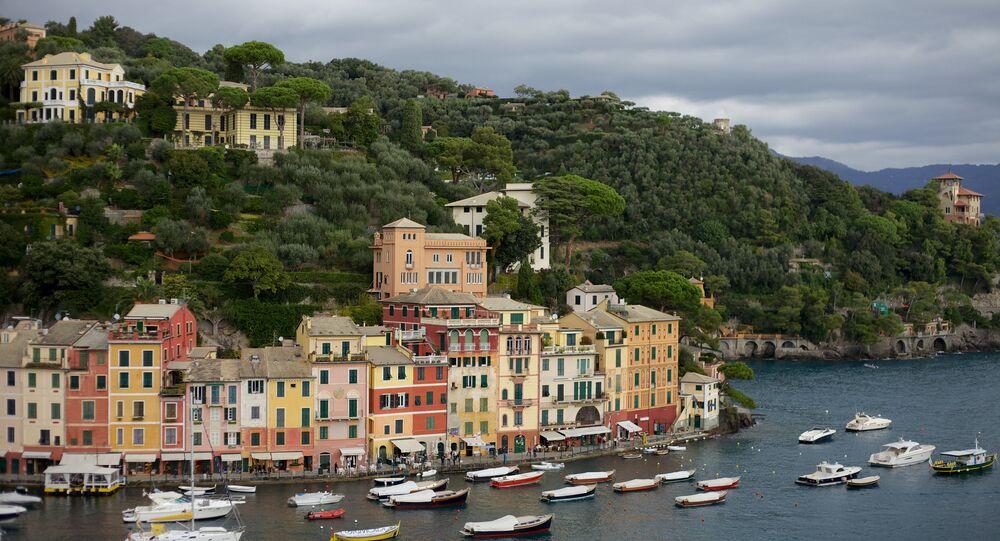 Una vista della Liguria