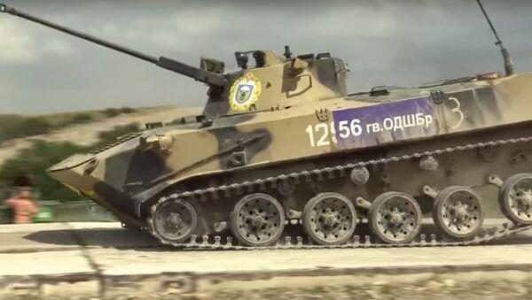 Stafetta di carri armati - Sputnik Italia