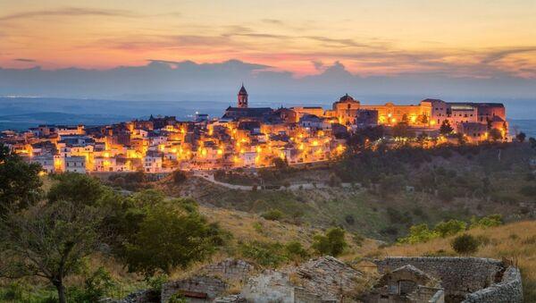 Una vista di Minervino Murge, Italia - Sputnik Italia