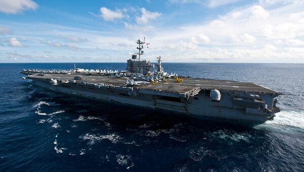 La portaerei USS John C. Stennis della classe Nimitz - Sputnik Italia