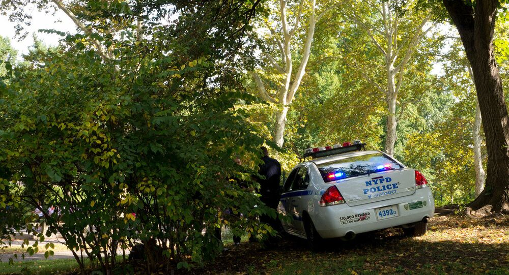 Polizia al Central Park di New York