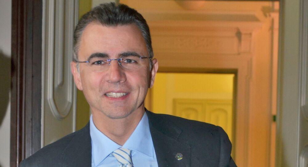 Manuel Vescovi, presidente della Lega Nord nel consiglio regionale della Toscana
