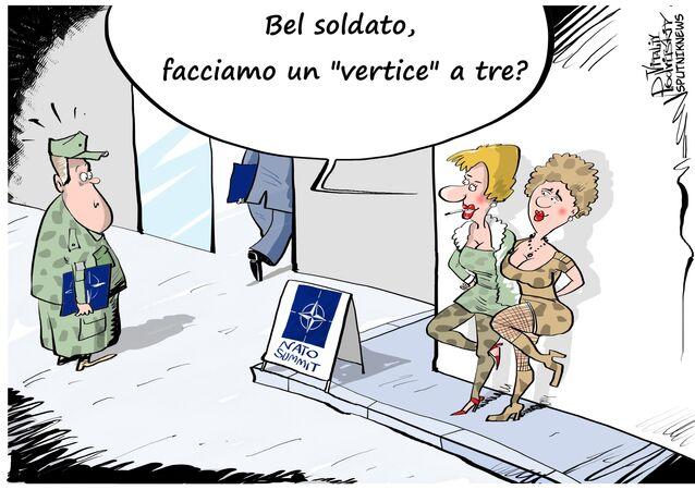 Come si divertiranno i soldati NATO al vertice a Varsavia