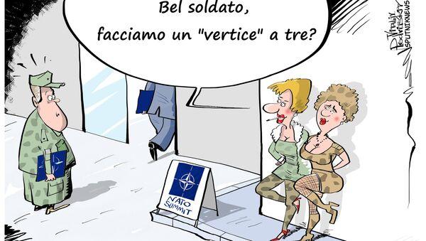 Come si divertiranno i soldati NATO al vertice a Varsavia - Sputnik Italia