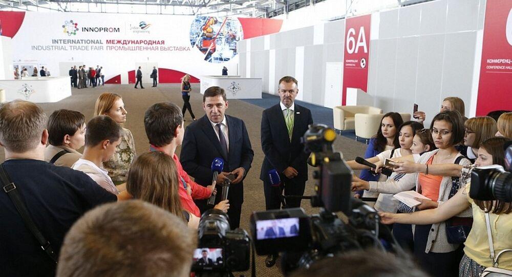 Evgeniy Kuybashev, governatore di Ekaterinburg