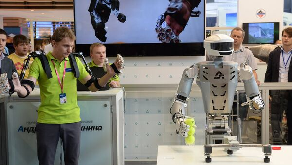 INNOPROM è la più importante fiera russa dedicata all'innovazione - Sputnik Italia
