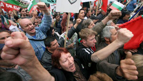 Proteste in Bulgaria - Sputnik Italia