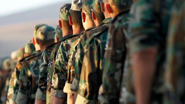 Il nuovo esercito siriano a Damasco - Sputnik Italia