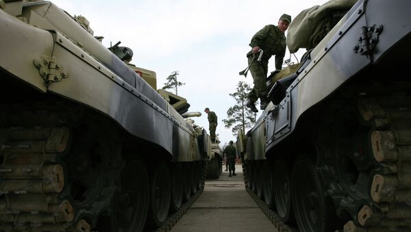 T-72 tanks - Sputnik Italia
