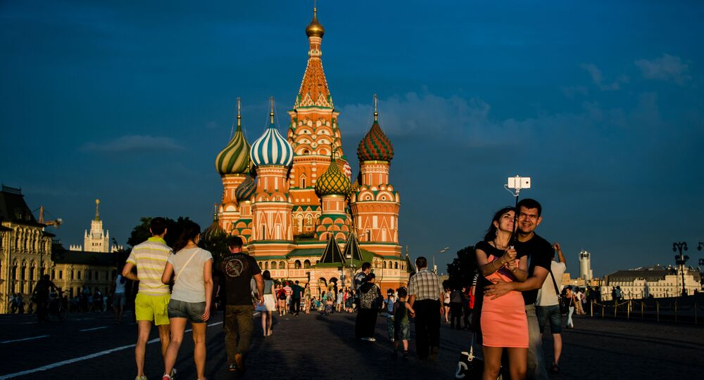 La cattedrale di San Basilio alla Piazza Rossa di Mosca.