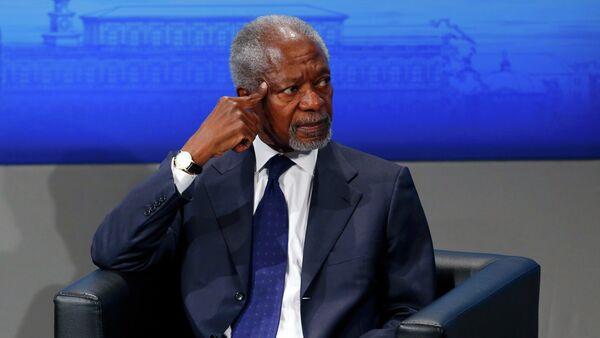 Kofi Annan - Sputnik Italia