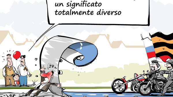 Questo da al road rage un significato totalmente diverso - Sputnik Italia